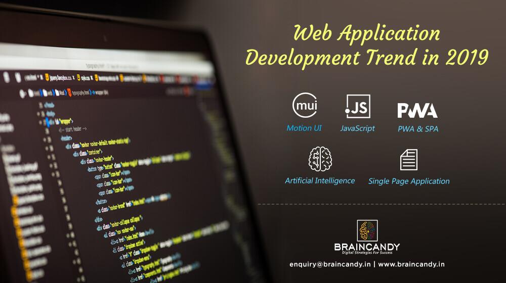 We Application Development Trend in 2019