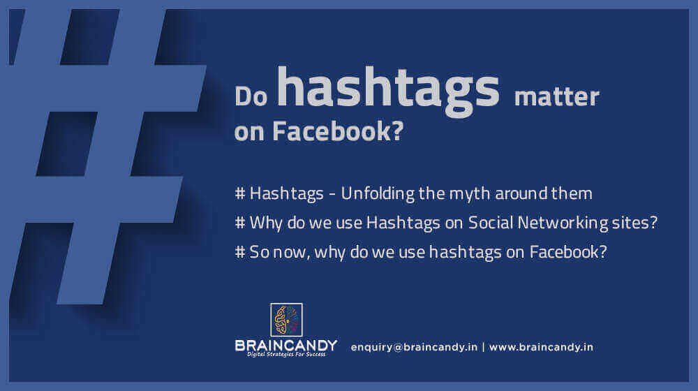 Do hashtags matter on Facebook