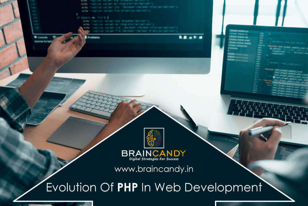 Evolution of PHP in web development