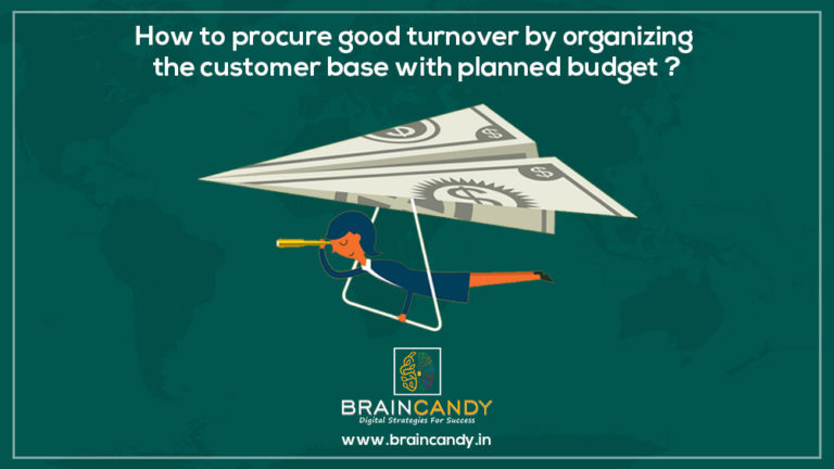 How to procure good turnover by organizing