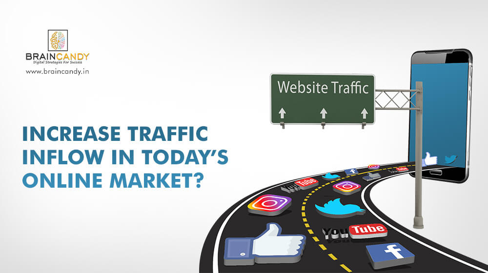 Increase traffic inflow